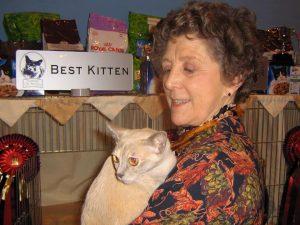 Patsy Yardley A Tribute Burmese Cat Club